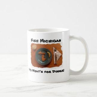 De vis Michigan, het is wat… Koffiemok