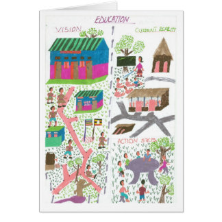 De Visie van Cissy voor Onderwijs Briefkaarten 0