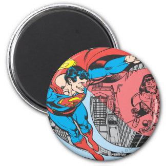 De Visie van de Röntgenstraal van de superman Ronde Magneet 5,7 Cm