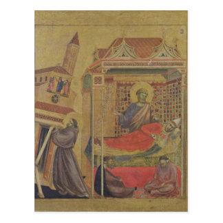 De visie van Paus Innocentius III, c.1295-1300 Briefkaart