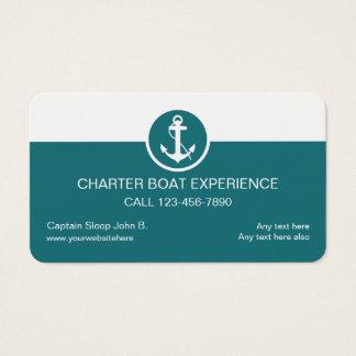De Visitekaartjes van de Boot van de charter