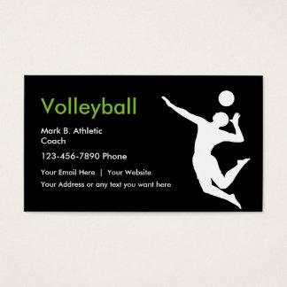 De Visitekaartjes van de Bus van het volleyball