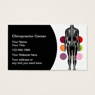 De Visitekaartjes van de chiropracticus