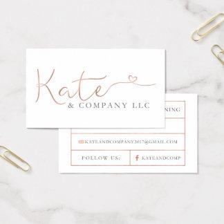 De Visitekaartjes van de douane: Kate & Bedrijf