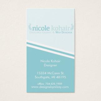 De Visitekaartjes van de douane voor Nicole
