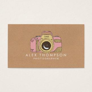 De Visitekaartjes van de Fotograaf van de Camera