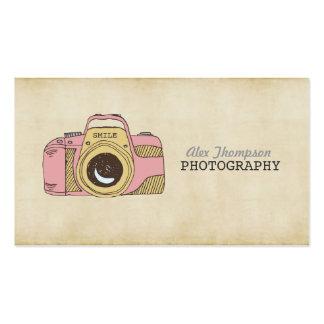 De Visitekaartjes van de Fotografie van de Camera