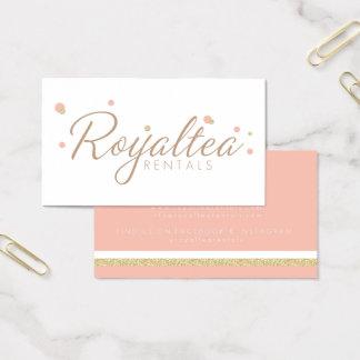De Visitekaartjes van de Huren van Royaltea