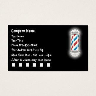De Visitekaartjes van de kapper