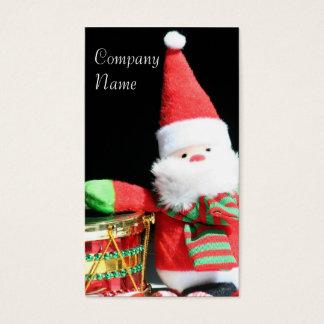 De visitekaartjes van de Kerstman van Kerstmis