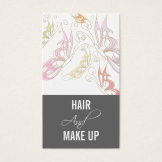 De Visitekaartjes van de Kunstenaar van de Make-up