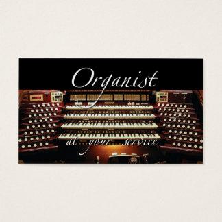 De visitekaartjes van de organist - bij uw dienst