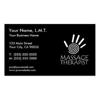 De Visitekaartjes van de Therapie van de massage