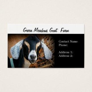 De Visitekaartjes van het Boerderij van de geit