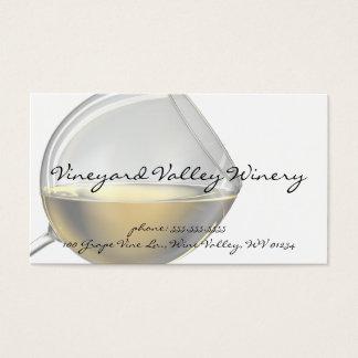 De Visitekaartjes van het Glas van de wijn