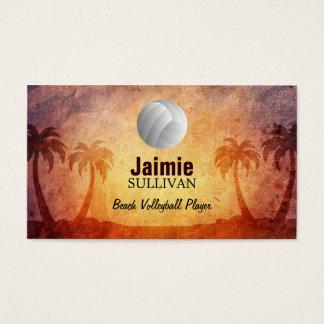 De Visitekaartjes van het Volleyball van het