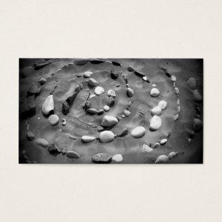 De Visitekaartjes van het zand en van Stenen -