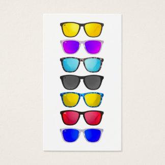 De Visitekaartjes van Rep van Eyewear van mixers