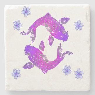 De Vissen van Azië Koi Stenen Onderzetter