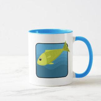De Vissen van de cartoon Mok