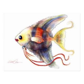 De Vissen van de fantasie: Engelwortel Briefkaart