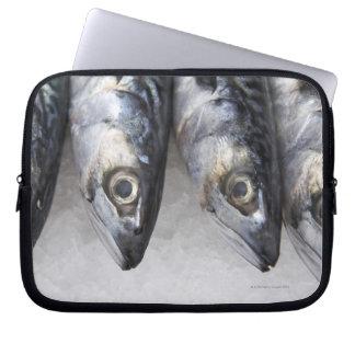 De vissen van de makreel, verse vangst van de dag laptop sleeve hoesje