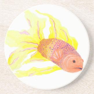 De Vissen van de vlam Zandsteen Onderzetter