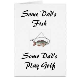 De Vissen van één of andere Papa, het Golf van het Kaart