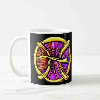 De Vissen van het gebrandschilderd glas Koffiemok