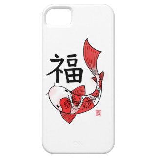 De Vissen van Koi met het hoesje van Iphone van he