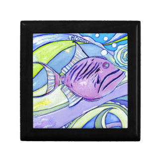 De Vissen van Surfin Decoratiedoosje