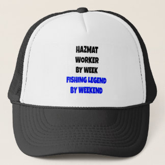 De vissende Arbeider van Hazmat van de Legende Trucker Pet