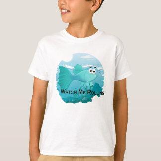De vissenillustratie van Guppy T Shirt
