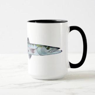 De vissenmok van de barracuda mok