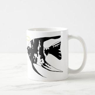 De vissenmok van de engel koffiemok