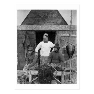 De Visser van de Kust van het oosten - Vintage Briefkaart
