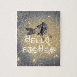 De visser van Hello Foto Puzzels