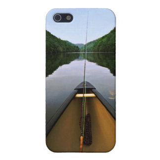 De Visserij van de Kano van de berg iPhone 5 Cases