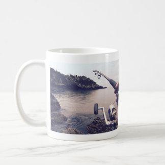 De visserij van de liefde koffiemok