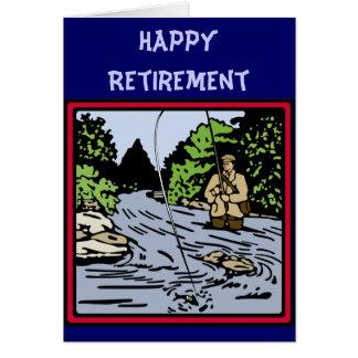 De Visserij van de pensionering Kaart
