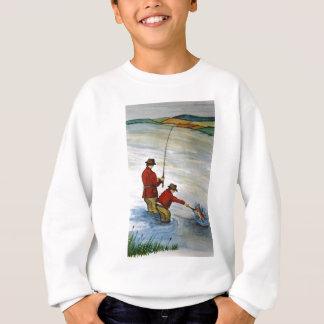 De visserijreis van de vader en van de zoon trui
