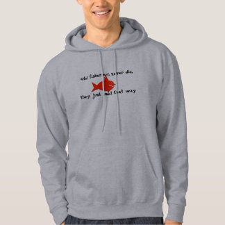 De vissers sterven nooit hoodie