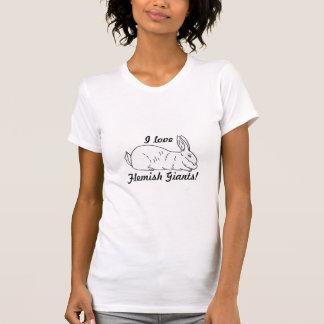 De Vlaamse ReuzeT-shirt van de Dames van het T Shirt