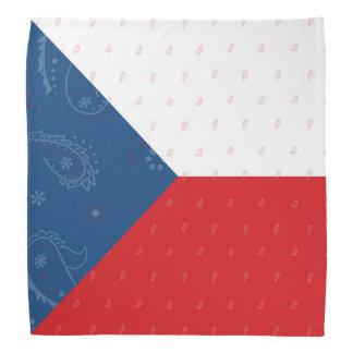 De Vlag Bandana van de Tsjechische Republiek