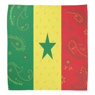 De Vlag Bandana van Senegal