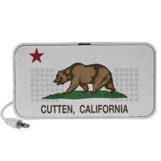 De Vlag Cutten van de Republiek van Californië Mp3 Speaker