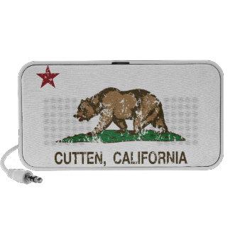 De Vlag Cutten van de Republiek van Californië Reis Luidsprekers
