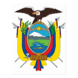 De Vlag de EG van Ecuador Briefkaart