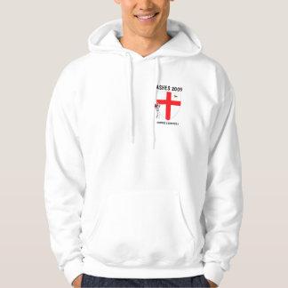De vlag Engelse veenmol van Engeland Sweatshirt Met Capuchon
