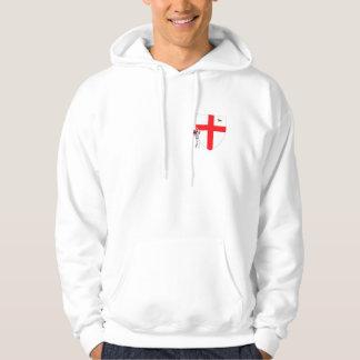 De vlag Engelse veenmol van Engeland Sweatshirt Met Hoodie